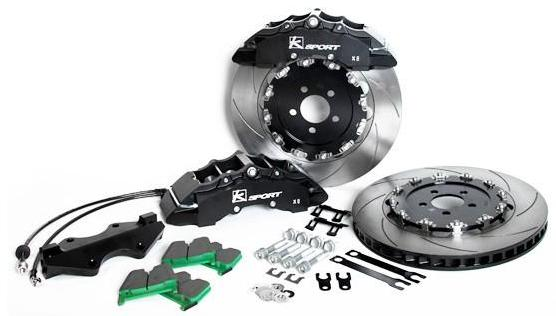 2008-2013 Lancer Evolution SuperComp 8 Piston Front Big Brake System by Ksport - Modern Automotive Performance  - 1