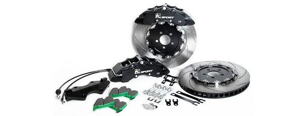 2012-2015 BRZ SuperComp 8 Piston Front Big Brake System by Ksport - Modern Automotive Performance
