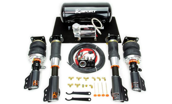 1988-1988 Civic/CRX  Airtech Basic Air Suspension System by Ksport - Modern Automotive Performance