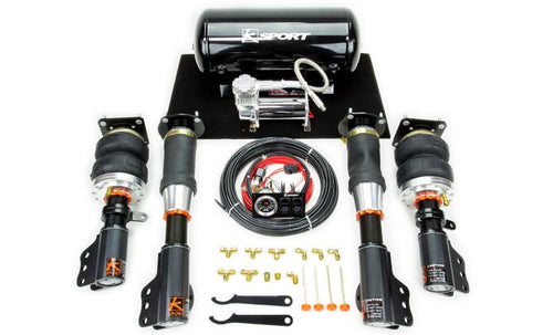 2001-2006 Lancer Evolution Airtech Basic Air Suspension System by Ksport - Modern Automotive Performance