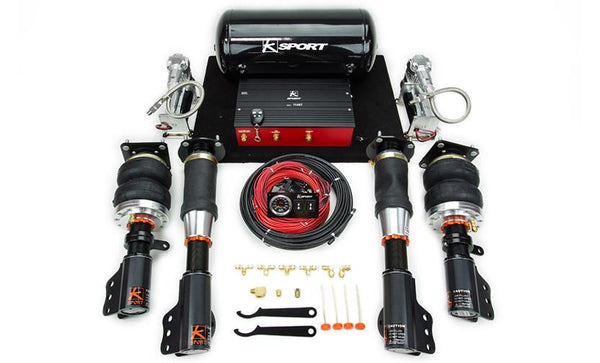 1989-1993 Galant VR4 AWD Airtech Deluxe Air Suspension System by Ksport - Modern Automotive Performance
