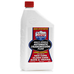 Lucas Oil Semi-Synthetic Multi-Vehicle Automatic Transmission Fluid - 1 Quart (10418)