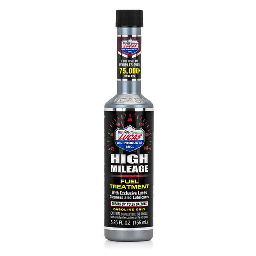 Lucas Oil High Mileage Fuel Treatment - 5.25 fl oz (10977)