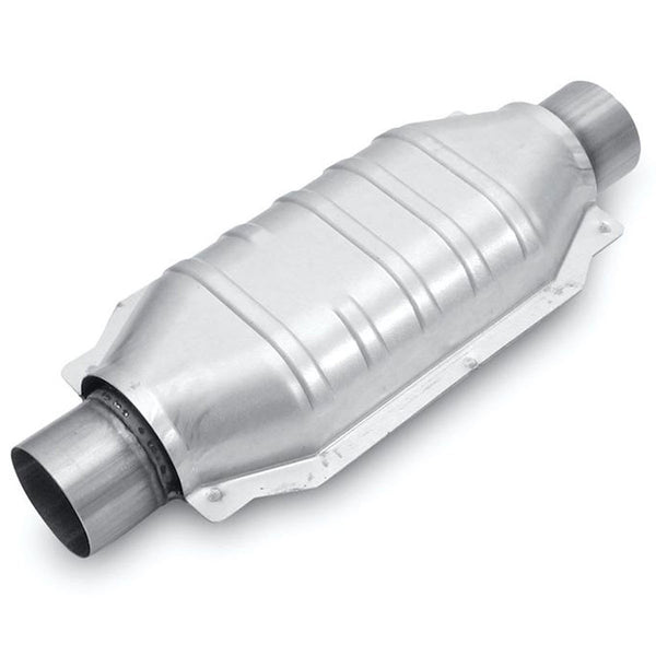 "Universal Catalytic Converter 2 inch Oval 2"" Dodge Chevy Ford by MagnaFlow - Modern Automotive Performance"