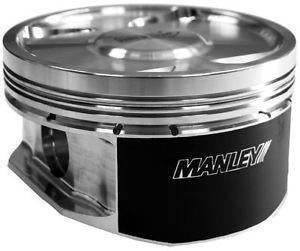 04-15 WRX/STI Extreme Duty Stroker 99.75mm +.25mm Size Bore 9.8:1 Comp Ratio Pistons by Manley (632502CE-4) - Modern Automotive Performance