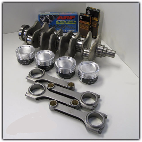 MAP 2.3L Stage 2 Stroker Kit (DSM 6 Bolt)