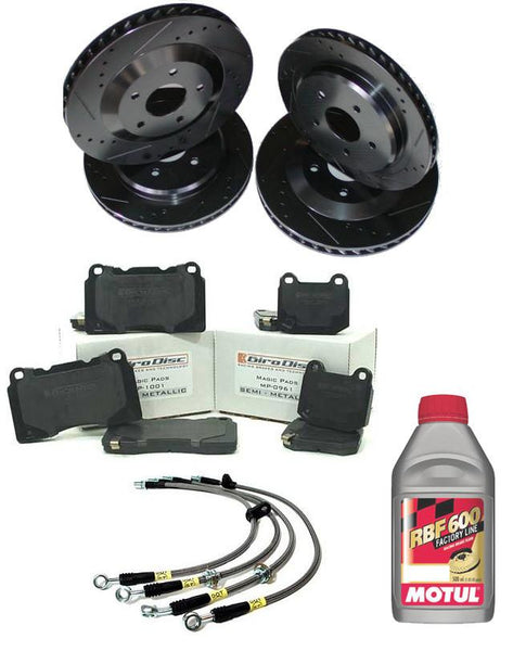 MAP Stage 2 Brake Package | 2002-2007 Mitsubishi Evo VIII/IX - Modern Automotive Performance  - 1