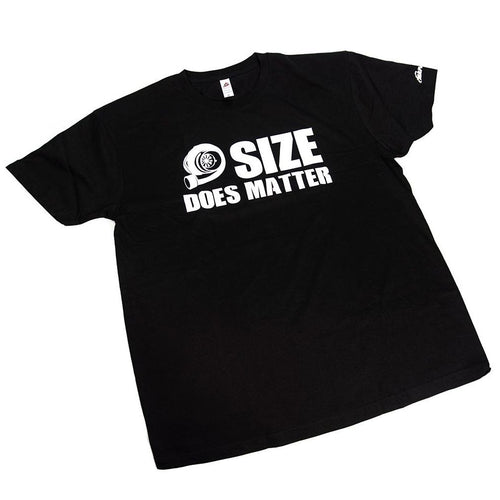 MAPerformance Black 'Size Does Matter' T-Shirt (MERCH-SDMT)