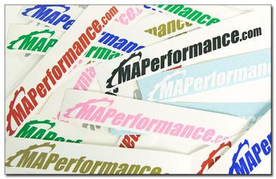 MAP Window Decal - Modern Automotive Performance