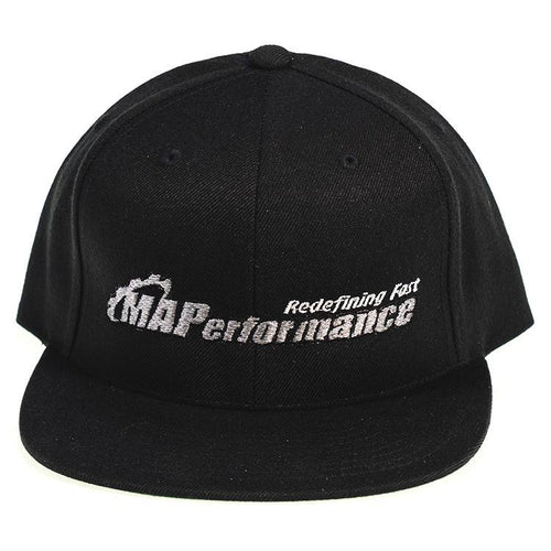 "Snapback Flat Bill Hat ""MAPerformance Redefining Fast"" 