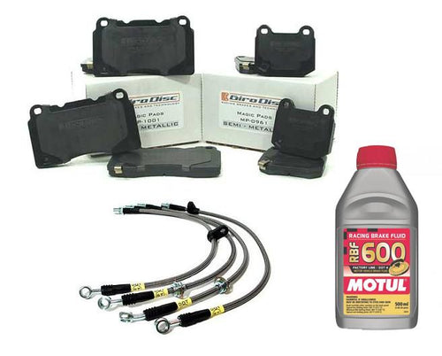 MAP Stage 1 Brake Package | 2002-2007 Mitsubishi Evo 8/9 - Modern Automotive Performance