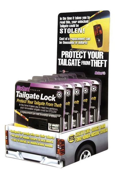 McGard Tailgate Lock / Universal / Display Pack (90214)