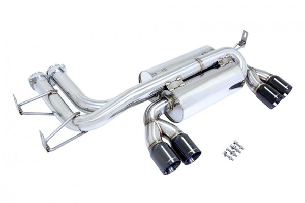 Megan Racing Axle Back Exhaust | 2001-2006 BMW E46 M3 (MR-ABE-BE46M30E-BC)