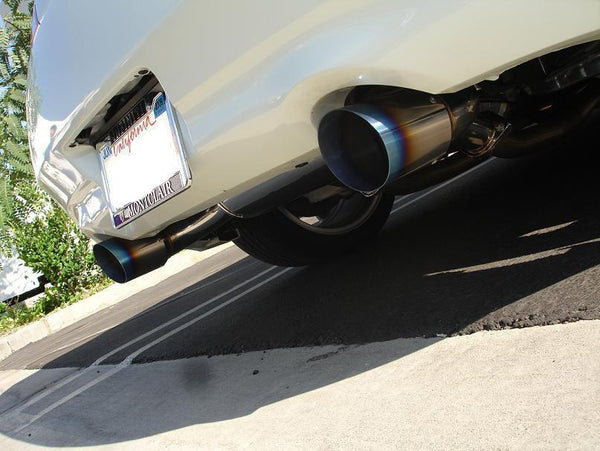 Megan Racing Axle Back Exhaust | 2008-2013 Infiniti G37 Coupe (MR-ABE-IG372D)