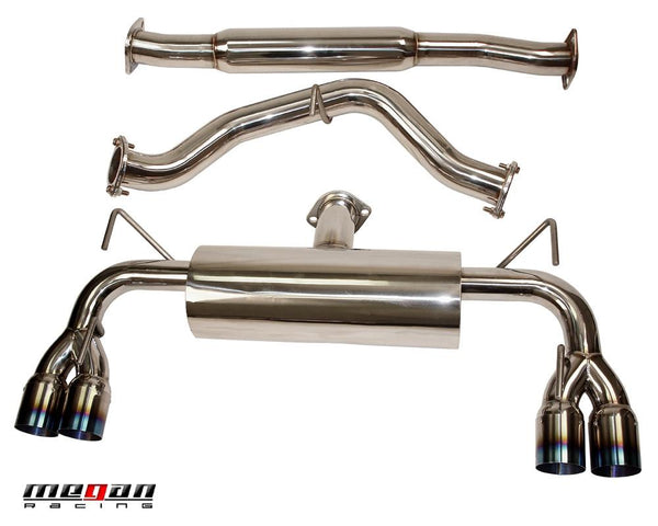 Megan Racing OE-RS Catback Exhaust System Subaru WRX STi 08+ - Modern Automotive Performance  - 2
