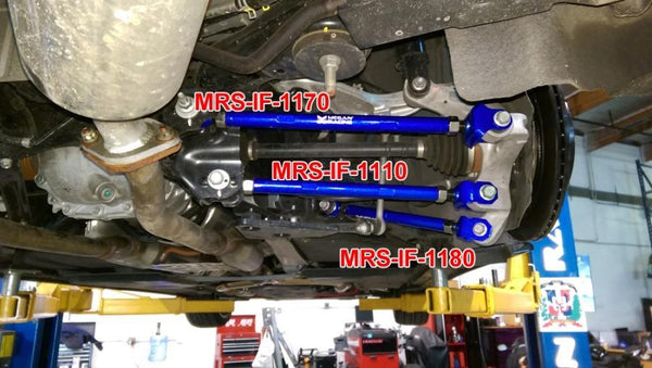Megan Racing Rear Lower Camber Arms | 2014+ Infiniti Q50 RWD (MRS-IF-1110)