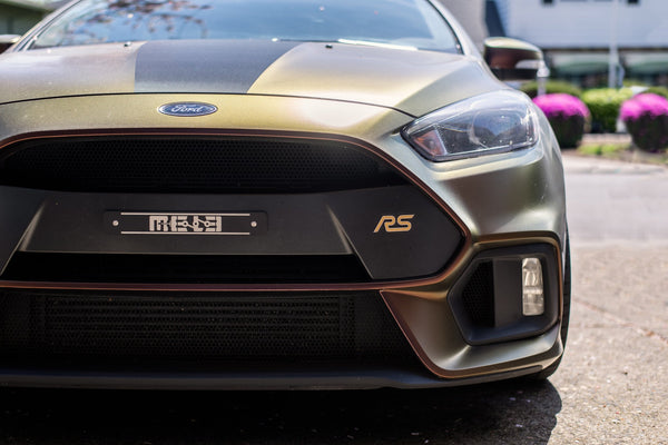MeLe License Plate Delete | 2016-2018 Ford Focus RS (MELE-LPD-FOCRS)