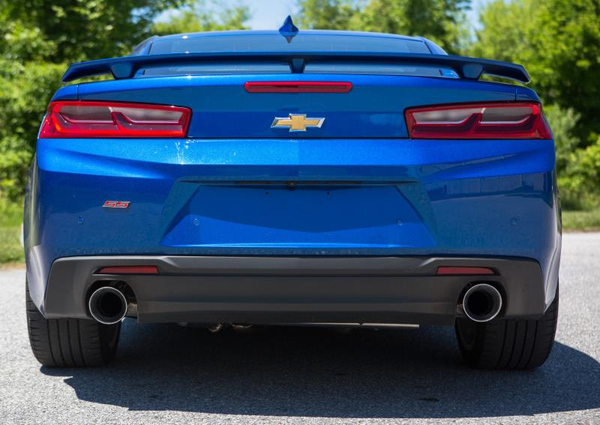 Mishimoto Dual-Tip Pro Axle-Back | 2016+ Chevrolet Camaro SS (MMEXH-CAM8-16ADTP)