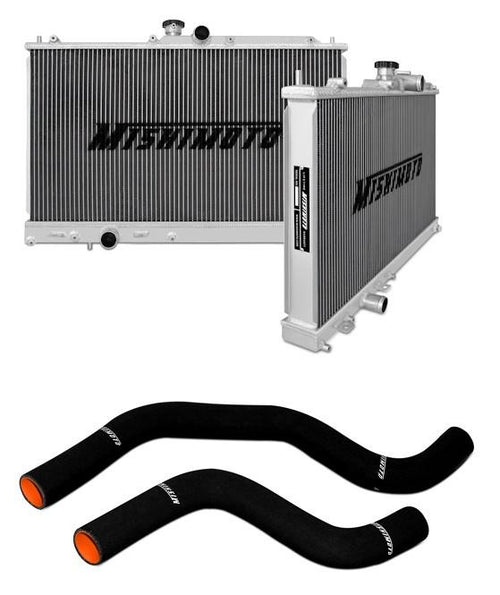Mishimoto Aluminum Radiator and Silicone Hose Combo (Mitsubishi Evo 7/8) - Modern Automotive Performance