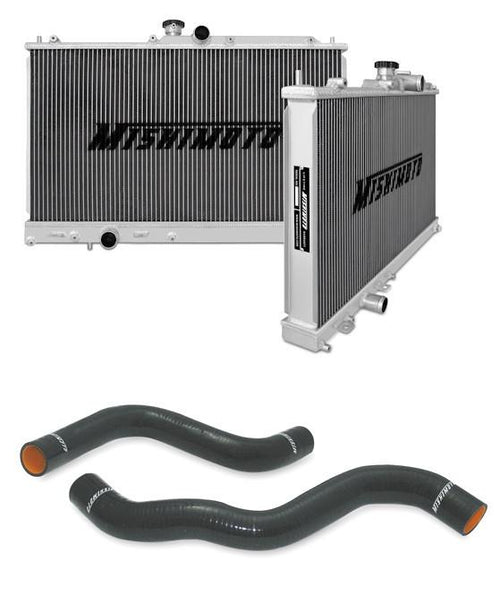 Mishimoto Aluminum Radiator and Silicone Hose Combo Mitsubishi Lancer EVO IX - Modern Automotive Performance