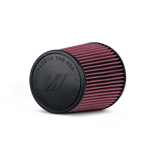 "Mishimoto Performance Air Filter, 3.5"" Inlet, 8"" Filter Length (MIS MMAF-3508) - Modern Automotive Performance"