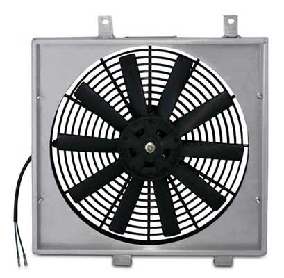 Mishimoto Aluminum Fan Shroud (Evo 8/9) MMFS-EVO-01 - Modern Automotive Performance