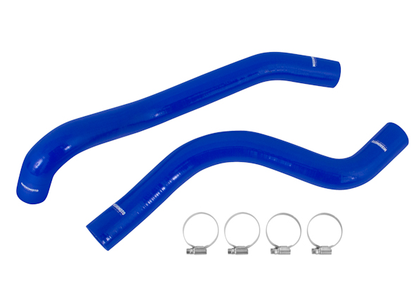 Mishimoto Silicone Radiator Hoses - Blue | 2015+ Ford Mustang Ecoboost (MMHOSE-MUS4-15BL) - Modern Automotive Performance  - 1