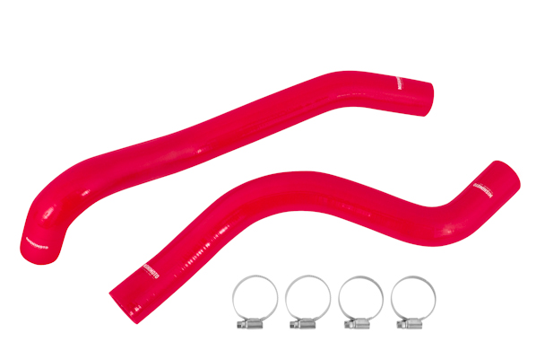 Mishimoto Silicone Radiator Hoses - Red | 2015+ Ford Mustang Ecoboost (MMHOSE-MUS4-15RD) - Modern Automotive Performance  - 1