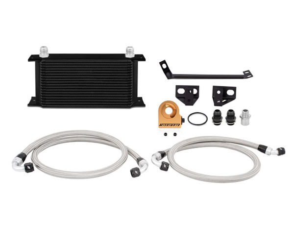 Mishimoto Thermostatic Oil Cooler Kit - Black |2015+ Ford Mustang Ecoboost (MMOC-MUS4-15TBK) - Modern Automotive Performance  - 1