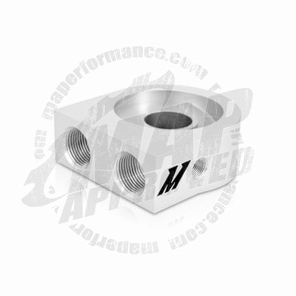Mishimoto Oil Sandwich Plate (M20 Silver)MMOP-SP - Modern Automotive Performance