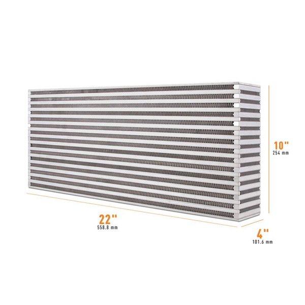 "Mishimoto Air-to-Air Intercooler Core - 22"" x 10"" x 4"" (MMUIC-11)"