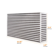 "Mishimoto Air-to-Air Intercooler Core - 17.75"" x 11.8"" x 4.5"" (MMUIC-18)"
