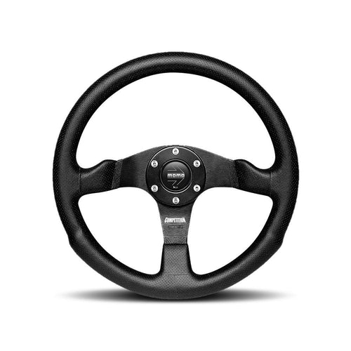 MOMO Competition 350mm Black Airleather Steering Wheel (COM35BK0B)