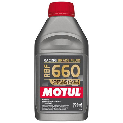 Motul RBF 660 Racing Brake Fluid DOT 4 | 0.5L Bottle (101667)