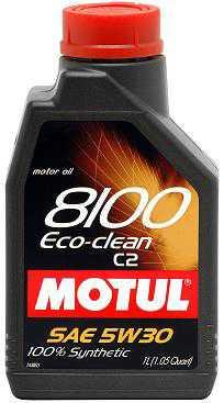 Motul 8100 5W30 Eco-Nergy Synthetic Oil C2 1L (1.05 qt.) - Modern Automotive Performance