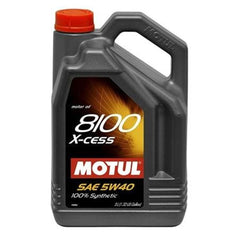 Motul 5L Synthetic Engine Oil 8100 5W40 X-CESS (102870)