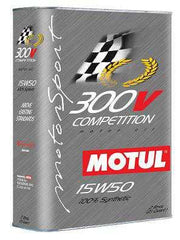 Motul 300V 15W50 Competition Oil | 2L / 2.1 qt (104244)