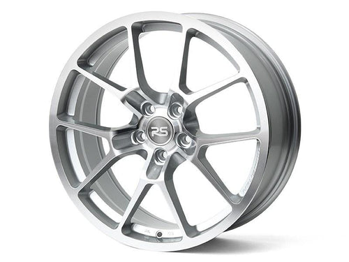 "Neuspeed RSe10 5x112 19"" Glossy Machined Silver Wheels"