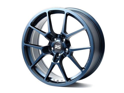 "Neuspeed RSe10 5x112 18"" Satin Midnight Blue Wheels"