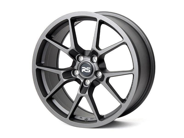 "Neuspeed RSe10 5x112 18"" Satin Gun Metal Wheels"