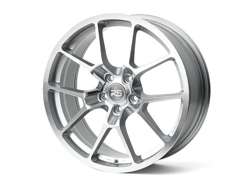 "Neuspeed RSe10 5x112 18"" Glossy Machined Silver Wheels"