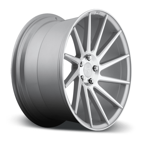 "Niche M112 Surge 5x114.3 20"" Silver & Machined Wheels"
