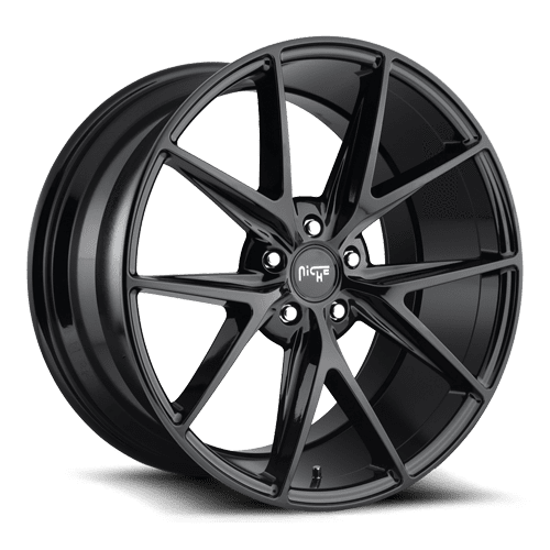 "Niche M119 Misano 5x114.3 20"" Gloss Black Wheels"