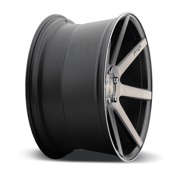 "Niche M150 Verona 5x114.3 19"" Black & Machined Wheels"