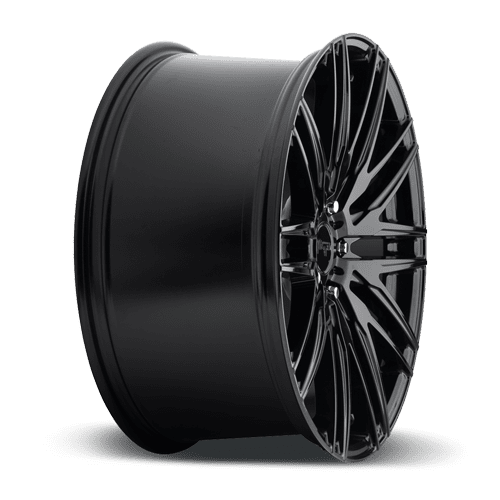"Niche M164 Anzio 5x114.3 22"" Gloss Black Wheels"