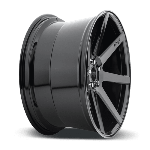 "Niche M168 Verona 5x120 20"" Gloss Black Wheels"