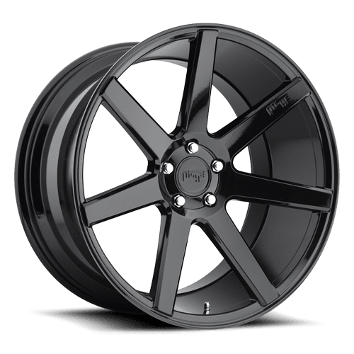 "Niche M168 Verona 5x130 22"" Gloss Black Wheels"