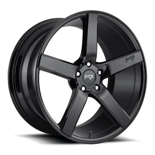 "Niche M188 Milan 5x114.3 20"" Gloss Black Wheels"
