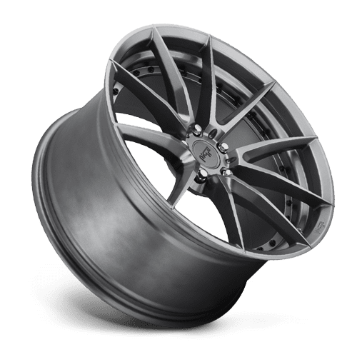 "Niche M197 Sector 5x120 19"" Gloss Anthracite Wheels"