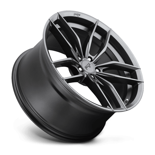 "Niche M204 Vosso 5x112 19"" Gloss Anthracite Wheels"